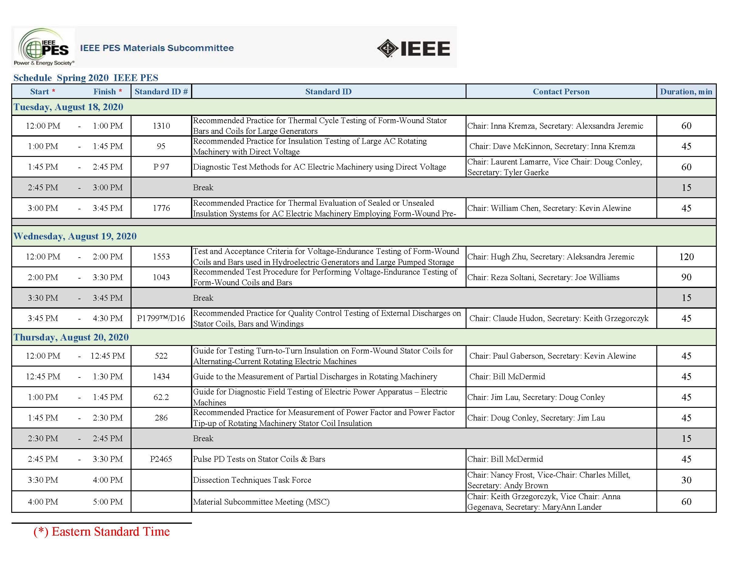 2020 IEEE MSC Spring schedule Rev 7
