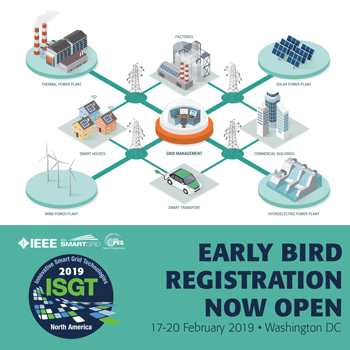 2019 ISGT Early Bird Registration Now Open