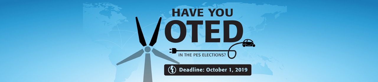 Have You Voted in the PES Elections? Deadline: October 1, 2019