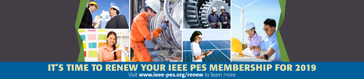 Renew your IEEE PES Membership for 2019