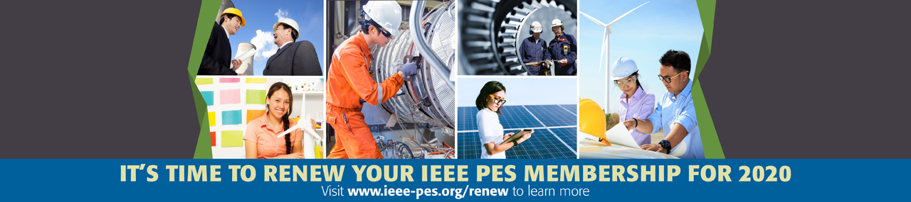 It's Time to Renew Your IEEE PES Membership for 2020