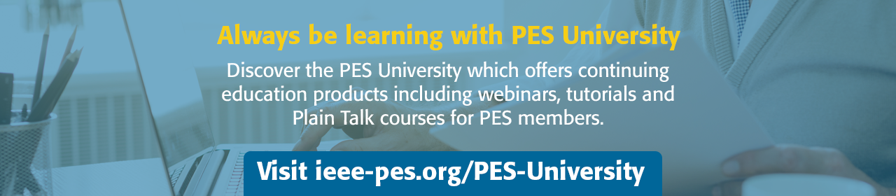 Always be learning with PES University