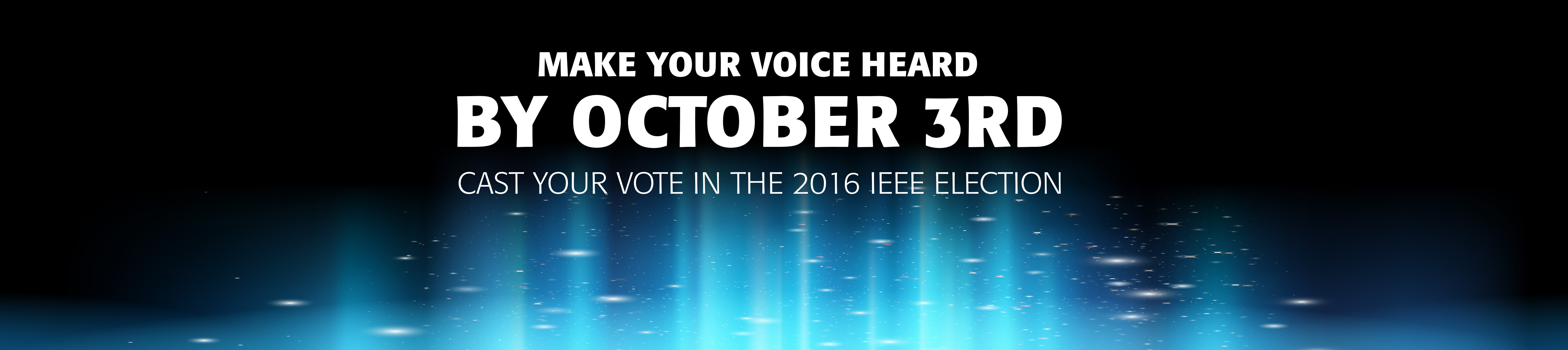 IEEE 2016 Election