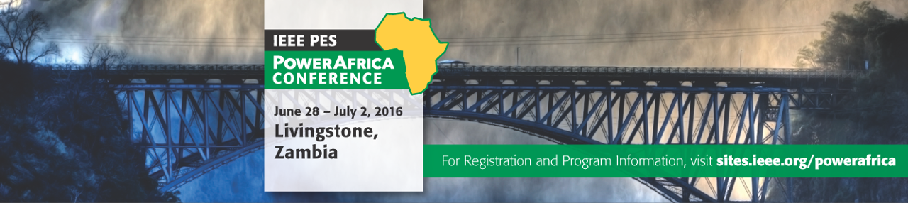 2016 IEEE PES Power Africa Conference