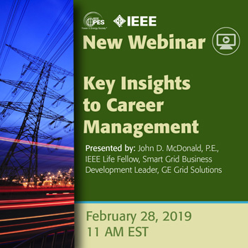 IEEE PES Webinar- Key Insights to Career Management