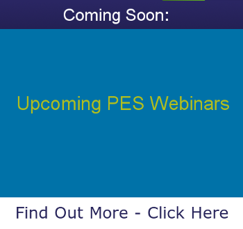 Upcoming PES Webinars to Explore