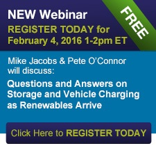 Questions & Answers on Storage and Vehicle Charging as Renewables Arrive