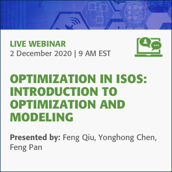 Optimization in ISOS: Introduction to Optimization and Modeling