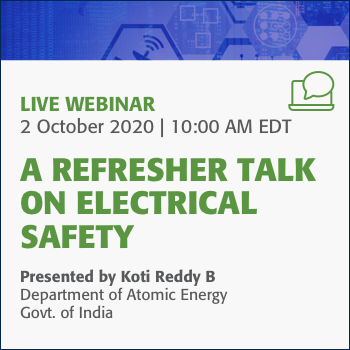 A Refresher Talk on Electrical Safety Webinar