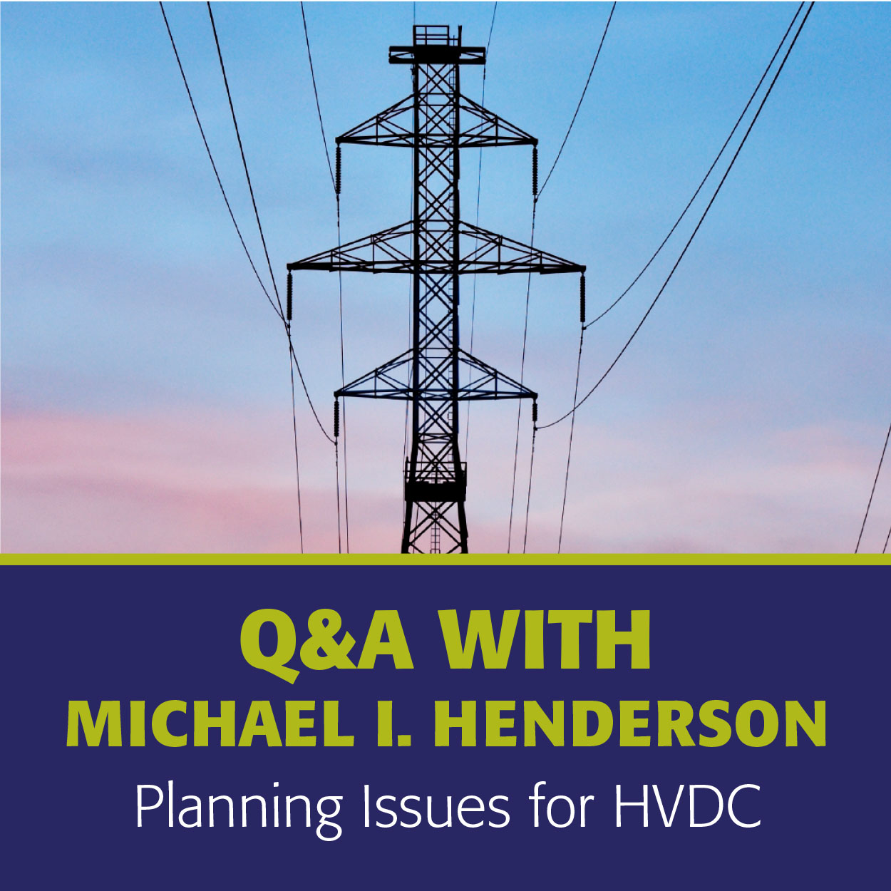 Q&A with Michael I. Henderson