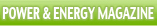 IEEE PES Power & Energy Magazine Banner Bar